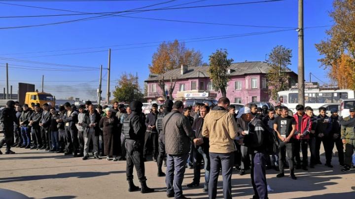 11 иностранцев выдворят из России после стрельбы у Хилокского рынка