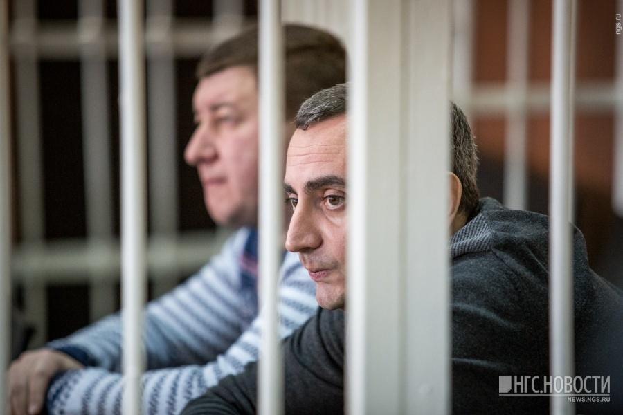 Александр Солодкин-младший и Андрей Андреев, экс-руководитель ФСКН по НСО