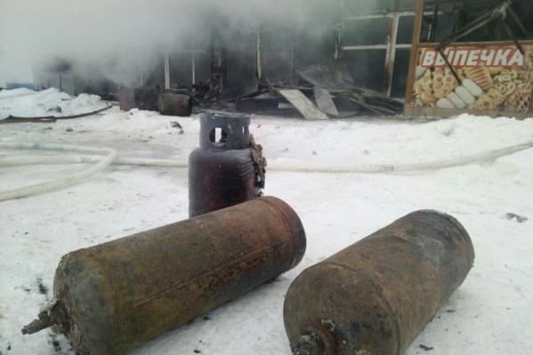 Баллоны с газом в кафе у вокзала могли взорваться в любой момент