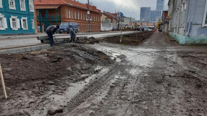 Помощница Хабирова возмутилась дорогой в центре Уфы