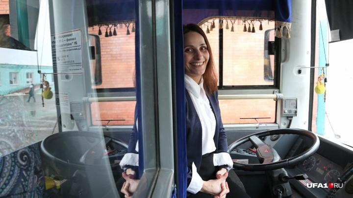 Потрясающая брюнетка — водитель автобуса в Уфе: «Я просто люблю большие машины»