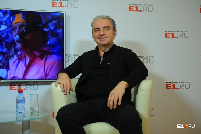 Владимир Шахрин сегодня отмечает 60-летие