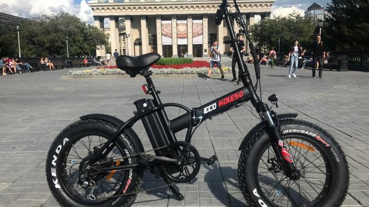 В Новосибирске началась распродажа складных электровелосипедов от компании Eco Koleso