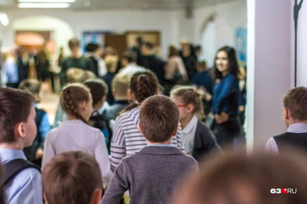 Самарские школы переполнены