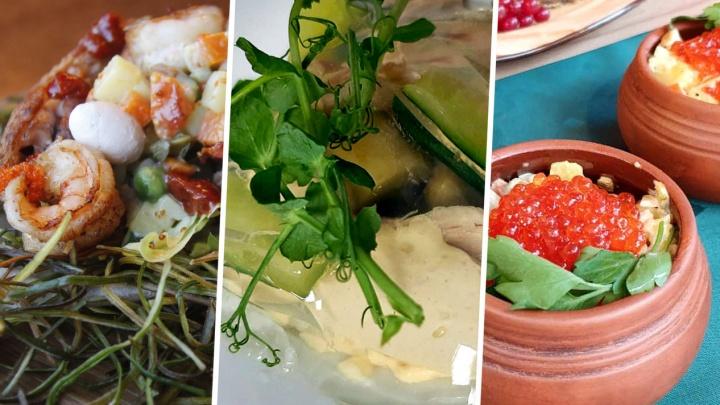 «Добавить клюкву»: 5 альтернативных рецептов салата оливье — есть тот, который придётся резать ножом