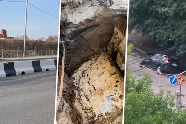 Последние крупные провалы на дорогах Новосибирска — чаще всего они возникают из-за воды, говорят эксперты