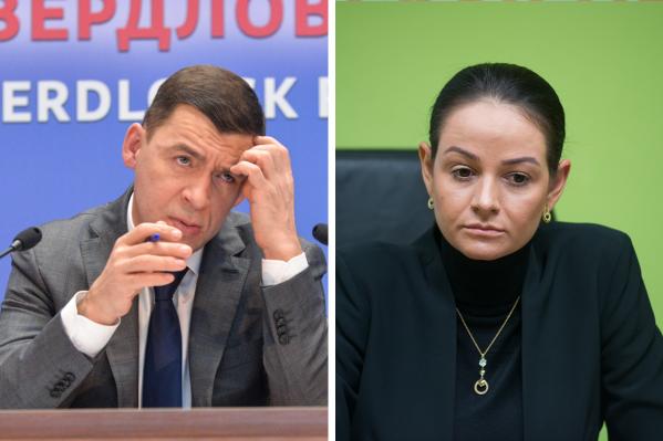 Куйвашев рассказал, что, посмотрев видео с Глацких, сначала решил ее уволить, но потом передумал