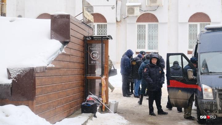 В Перми ввели режим ЧС после гибели пяти человек в гостинице