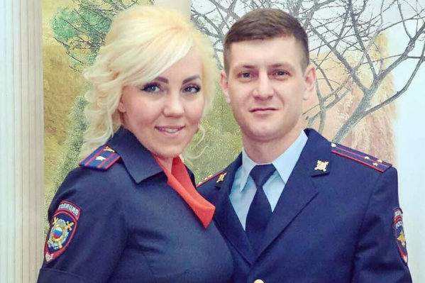 Дарья и Тимур служат в полиции