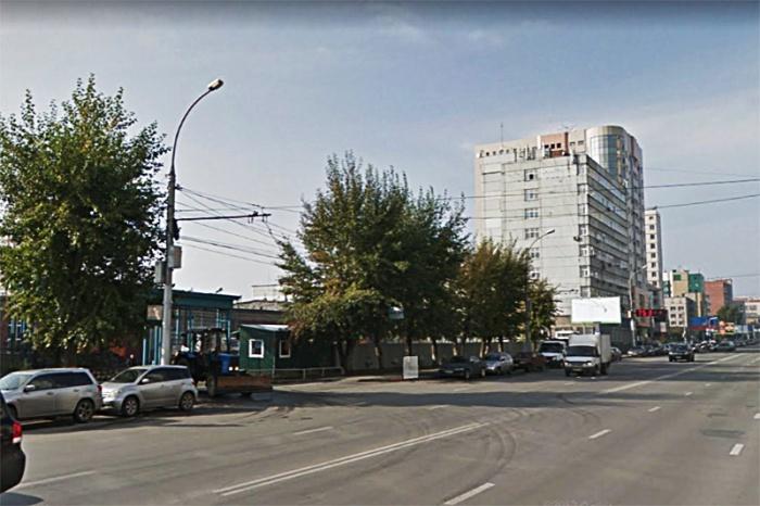 Место на Фрунзе, где запретят остановку
