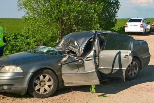 У водителя не было шансов выжить