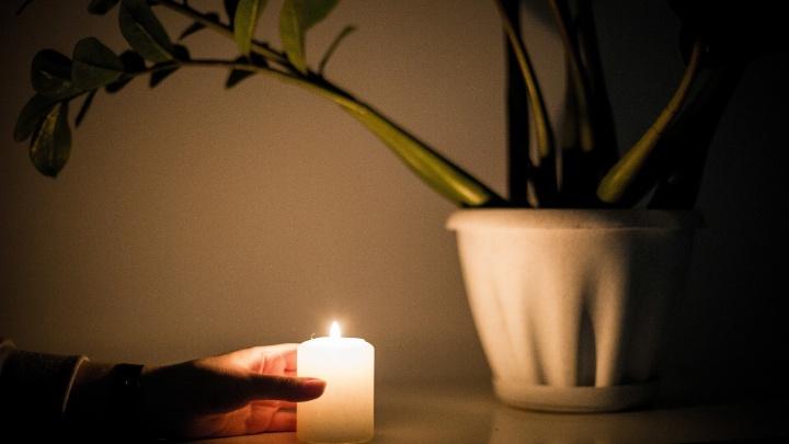В Октябрьском районе без света остались больше тысячи домов
