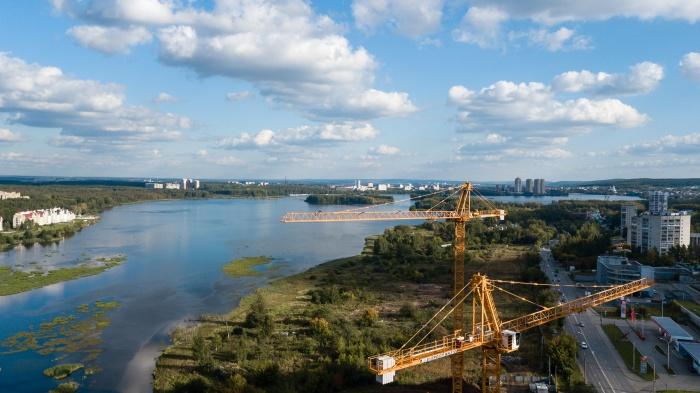 Квартал «Сказы Бажова на набережной Щербакова» расположен в живописном месте,на берегу Нижне-Исетского пруда