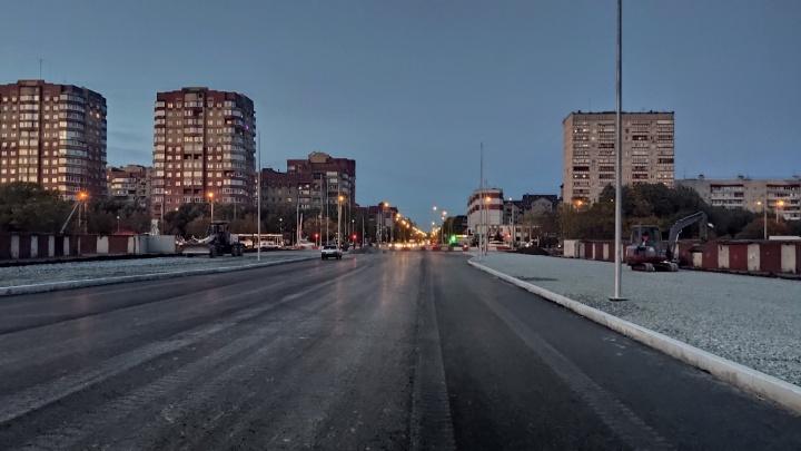 Вместо гаражей — улица: в Тюмени до конца октября откроют проезд по Федорова