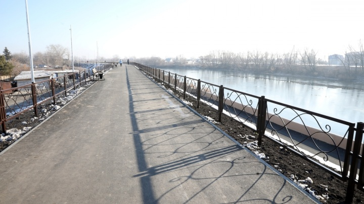 Власти Кургана назвали сумму ремонта набережной от Кировского моста до дамбы