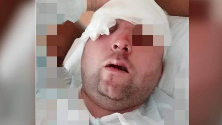 «Муж лежал в луже крови»: в Брагино жестоко избили компанию друзей
