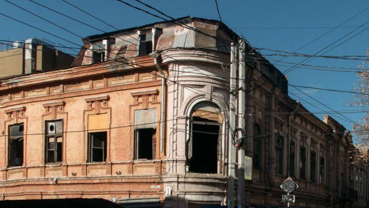 В центре Ростова снесли историческое здание газеты «Приазовский край»
