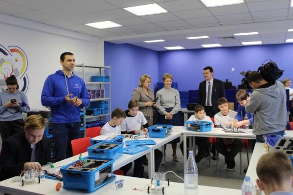 В «Кванториуме» дети будут развивать свои технические способности