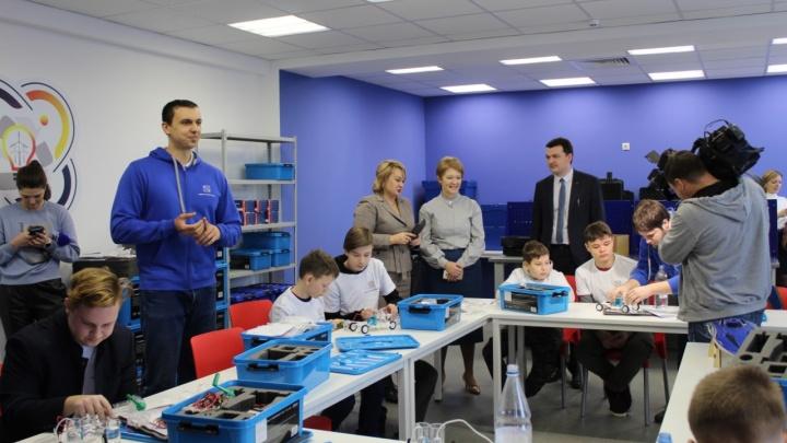 В Омске открылся технопарк, где детей будут учить проектировать беспилотные летательные аппараты