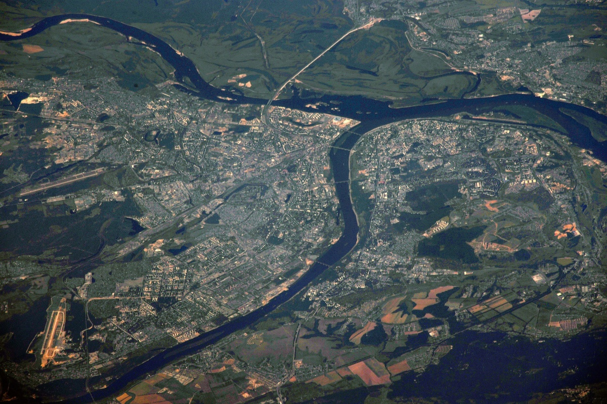 Русский космонавт сфотографировал Нижний Новгород сорбиты Земли