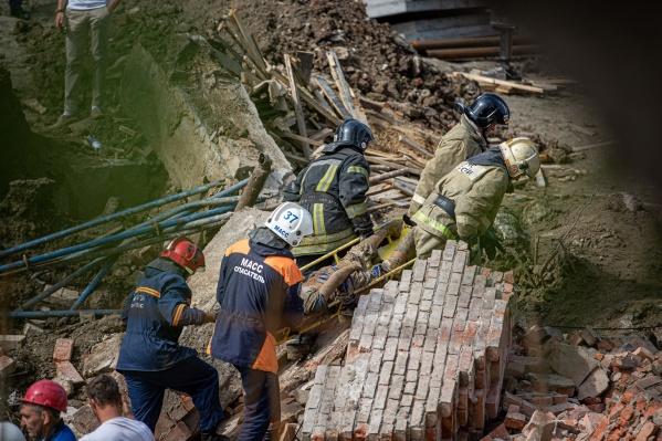 Обрушение произошло в небольшом здании насосной станции на Ударной, на Станиславском жилмассиве