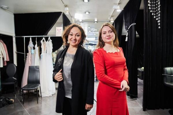 ЕленаПреображенская и Екатерина Евсина на несколько дней поменялись салонами