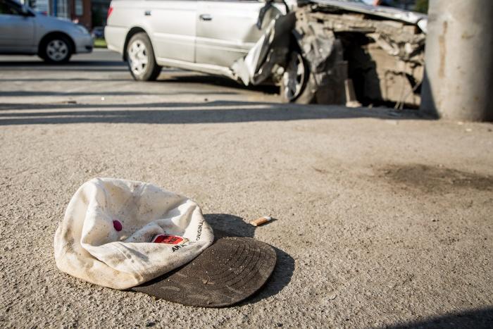 Ребенок попал под машину возле Октябрьского рынка. Фото из архива НГС
