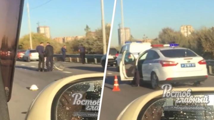 Велосипедиста сбили насмерть на трассе Ростов — Батайск