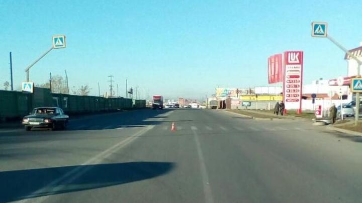 Водитель «Тойоты» сбила пешехода и увезла его в травмпункт с переломом черепа