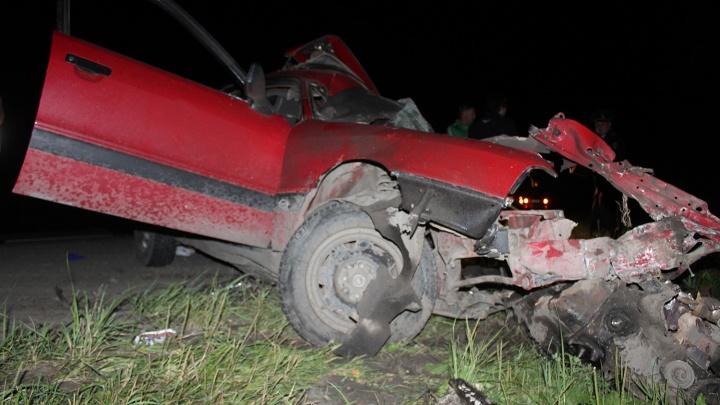 В Кургане четыре человека погибли в аварии на участке трассы Иртыш от Утяка до поворота на Колташово