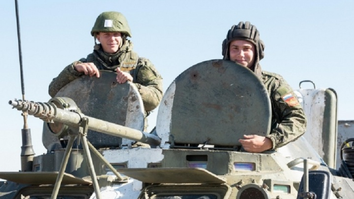 Волгоградских солдат проверили на любовь к Отечеству