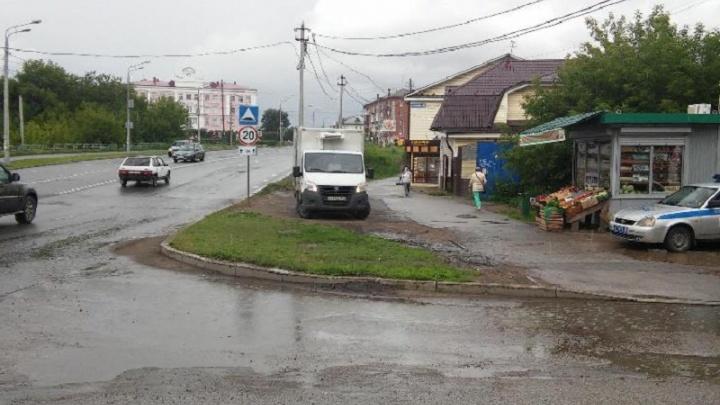 В Перми «Газель» на тротуаре сбила 82-летнюю пенсионерку