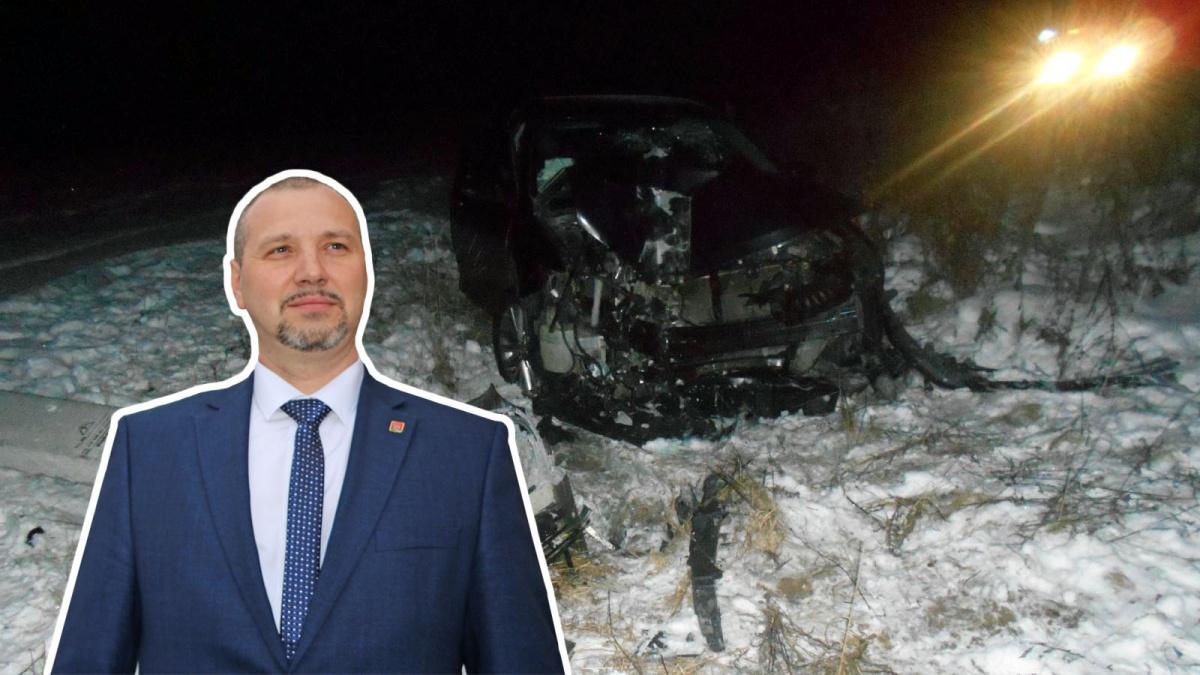 Бывший кимрский зам, а ныне Глава Ростовского района, разбил служебную «Тойоту»