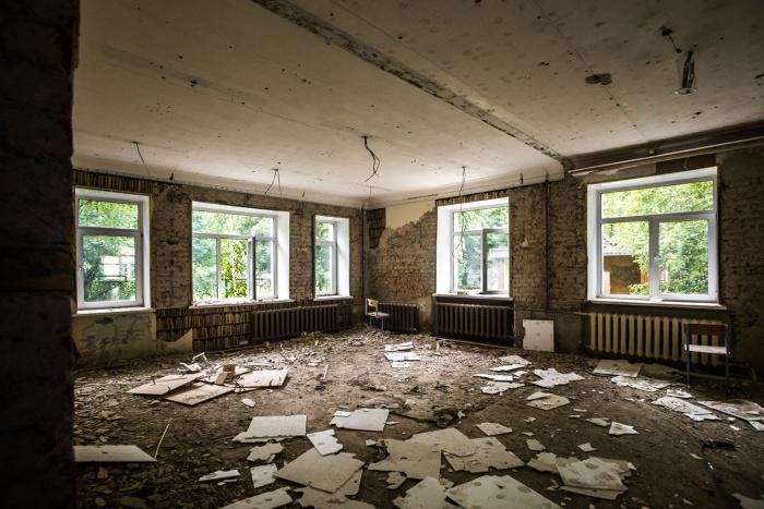 В здании на Гоголя, 25«а» уже снесли все перегородки