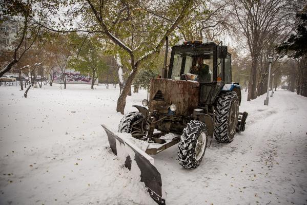 Всего за последние два месяца в ГЖИ поступило 40 жалоб о плохой уборке снега