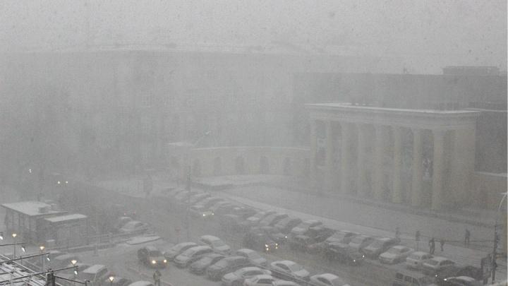 Синоптики пообещали новосибирцам субботнюю метель