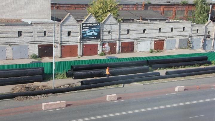 Водопроводные трубы на Луначарского поменяют с помощью специального ножа
