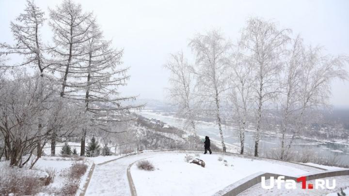 Погода в Башкирии: суббота будет морозной и ветреной