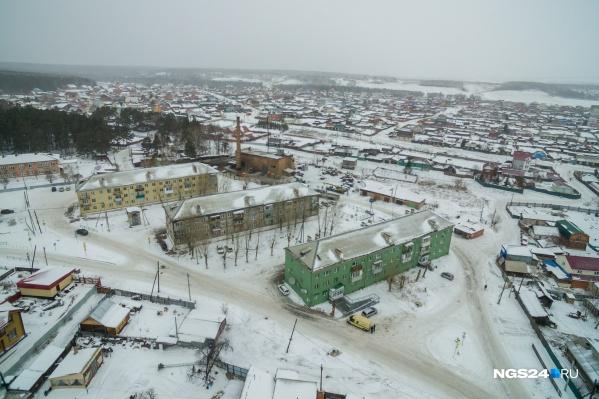 Вид на поселок Элита