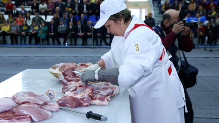 В Зауралье выберут, кто лучше всех разделывает мясо