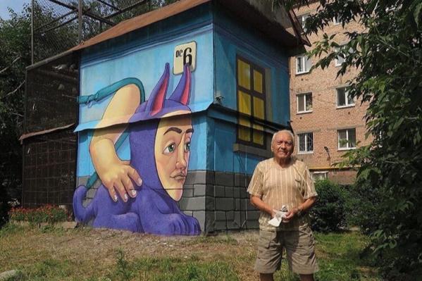 Игорь Георгиевич построил голубятню в 70-х годах, а фестиваль «Карт-бланш» подарил ей вторую жизнь