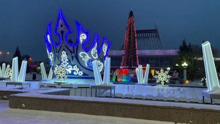 Омские синоптики дали прогноз на новогоднюю ночь