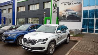 ŠKODA KODIAQ: как превратить управление автомобилем в отдельный вид отдыха
