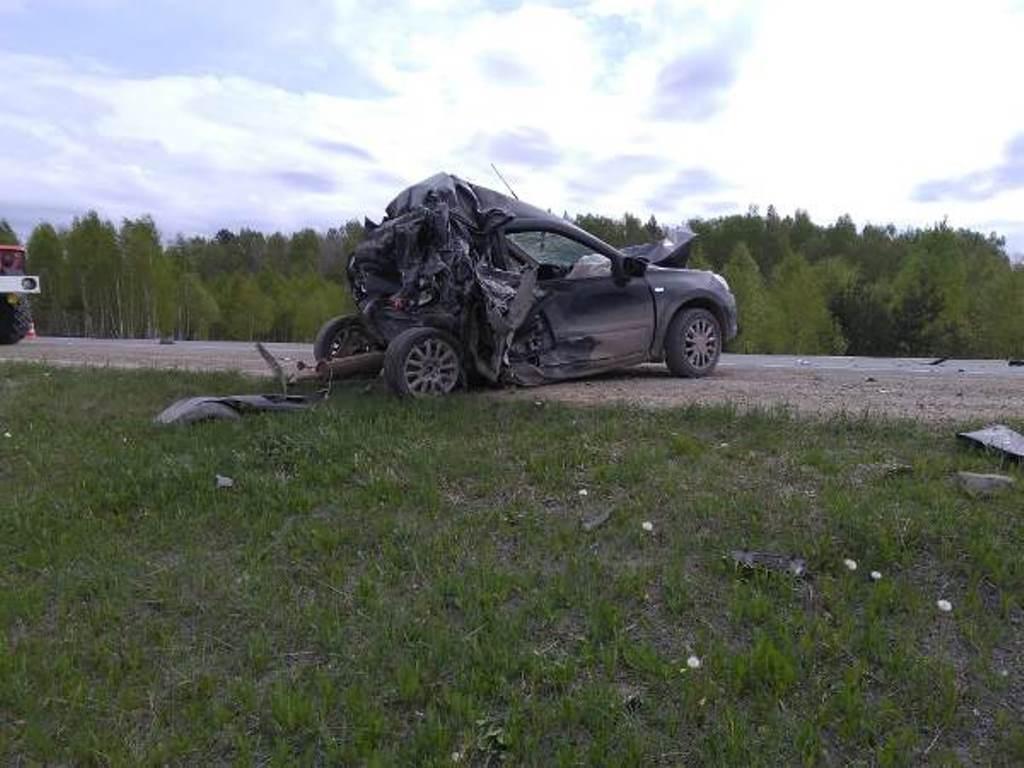Машина, где находилась семья полицейского, не подлежит восстановлению