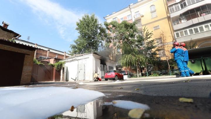 Произошла перегрузка: на одной из ростовских подстанций вспыхнул пожар