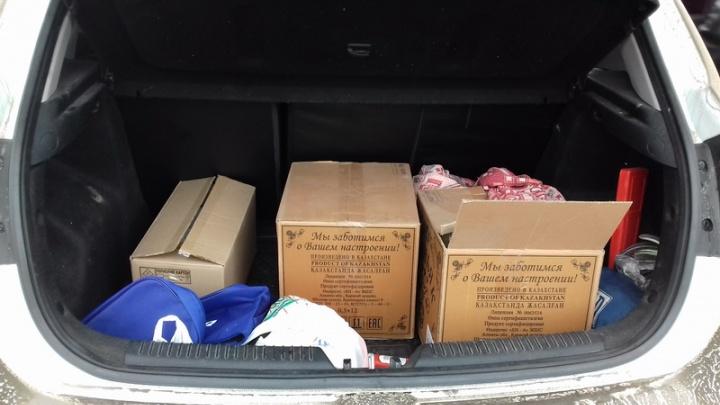 У жителя Тюмени в Зауралье изъяли 28 бутылок незаконно перевозимого коньяка