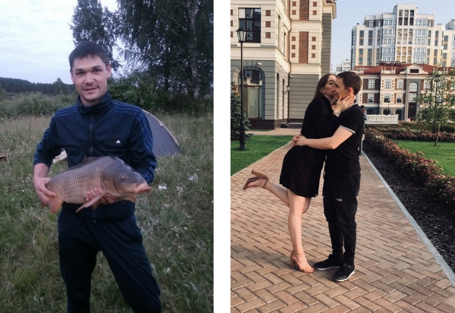 Справа — Вячеслав Тропин с девушкой. Слева&nbsp;— его коллега Вадим Мустафин, которого тоже обвиняют в изнасиловании<br>