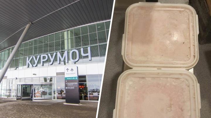 В аэропорту Курумоч у бортпроводника нашли «контрабанду» красной икры с Чукотки