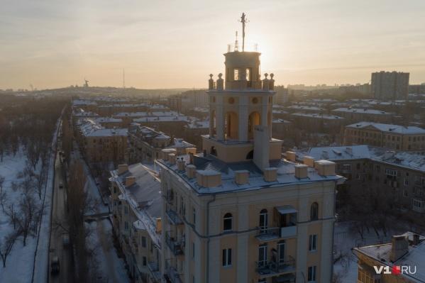 Ночью в Волгограде -9... -11 °С