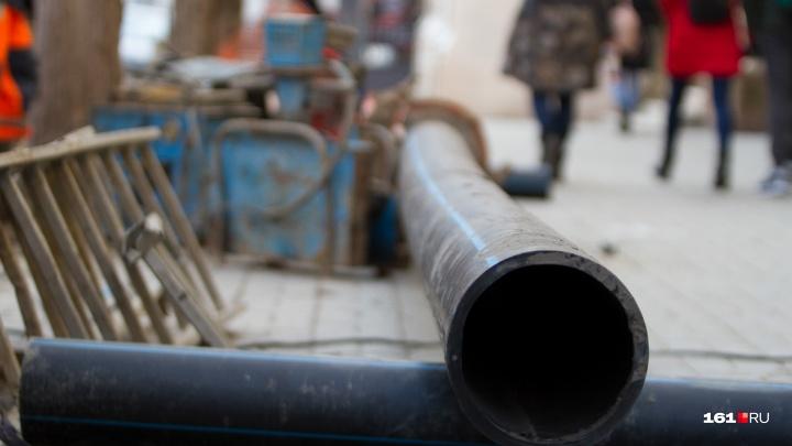 В начале рабочей недели в десятках ростовских домов отключат воду